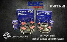 NEW EBC FRONT AND REAR BRAKE DISCS AND PADS KIT OE QUALITY REPLACE - PD40K1976