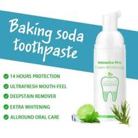 Natural Intensive Stain Remover Whitening Toothpaste Foam Toothpaste