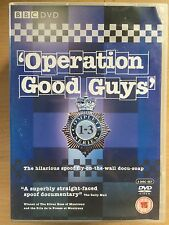 Operation Good Guys ~ Complete Burdis / Anciano BBC Comedy Cop Series UK DVD