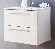 Trendteam ( Intenso ) Waschbeckenunterschrank WEISS Hochglanz lackiert mit