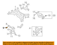 NISSAN OEM 04-09 Quest Rear Suspension-Lateral Arm Bolt 55226AG01A