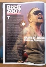 AXL ROSE Guns n' Roses 2007 UK ARTICLE / clipping