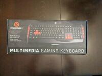CyberPowerPC Multimedia Gaming Keyboard