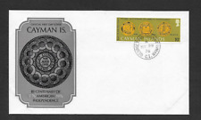 CAYMAN  ISLANDS QE11 ERA FIRST DAY COVER 1976 AMERICAN BICENTENARY INDEPENDENCE