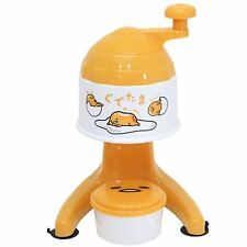 Sanrio Gudetama Handy Snow Cone Maker/A Cup Is With Ice Making/Shaved Ice/New