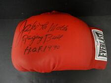 Jake LaMotta Signed Boxing Glove Autograph Auto PSA/DNA Y66506