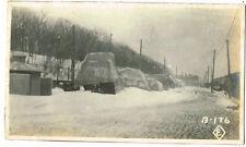 OLD CHINA / CHINESE PHOTO PEKING / BEIJING USMC STORES IN WINTER C.1920  (130)