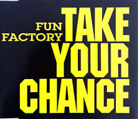 Fun Factory ‎Maxi CD Take Your Chance - Germany (M/EX+)