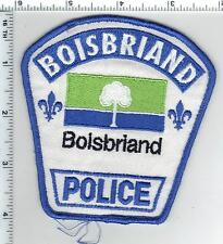Boisbriand Police (Canada) Shoulder Patch from 1990's