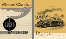 Auburn 1935 - Above the Mass Class 1935 New Auburn