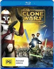 *NEW & SEALED* Star Wars: The Clone Wars (Blu-ray, 2008 Animated Movie) RARE OOP