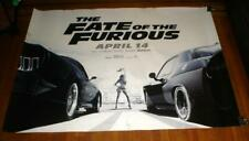 THE FATE OF THE FURIOUS 5FT SUBWAY MOVIE POSTER #1