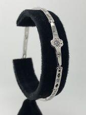 Women's Stainless Steel Flower Design Bracelet - #10