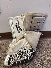 Boddam Pro-100 Hockey Goalie Left Hand Glove White Canada Custom Goal Equipment