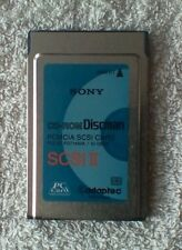 Sony 975300 CD-ROM Discman PCMCIA SCSI II PC No Dongle
