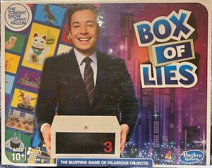 The Tonight Show Starring Jimmy Fallon Box of Lies Party Brand NEW Sealed Game