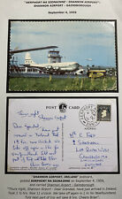 1959 Shannon Airport Ireland Picture Postcard Cover To Gainsborough England