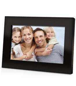 "COBY DP700 - 7"" Widescreen Digital Photo Black Frame"