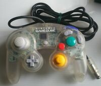 Nintendo Gamecube Controller Clear Skeleton Japan video game Accessories FedEx