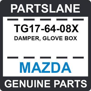 TG17-64-08X Mazda OEM Genuine DAMPER, GLOVE BOX