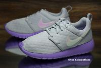 Nike Roshe One SE (GS) Platinum Purple 859609-002 Kid's Shoes Multi Size