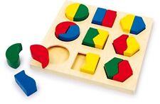 Geo Puzzle Holzpuzzle Lernpuzzle Motorikpuzzle Motorik Lernen Kinderpuzzle Baby