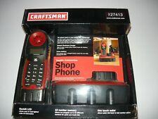 CRAFTSMAN #27413 900 MHZ CORDLESS SHOP PHONE,GARAGE