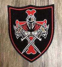 Templar Knight Crusader Shield Patch