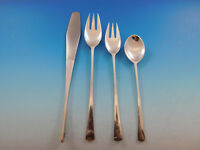 Tjorn by Dansk Sterling Silver Flatware Set Dinner Size 4 Piece Place Setting