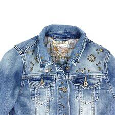 Scotch & Soda Jean Jacket Girls Size 10 Embellished Denim Studs Scotch R'Belle