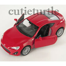 "4.5"" Welly Toyota GT 86 Left Hand Drive Diecast Toy Car 43669D Red"