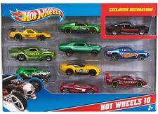 2013 Hot Wheels 10 Car Set Treasure Hunt Lincoln Honda S2000 Ford Fairlane BMW