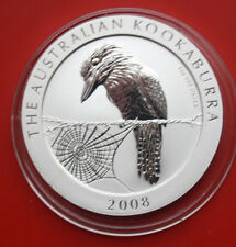 Australie: 1 dollars 2008 Kookaburra, 1 oz, #f 1968, St-BU, extremly rare
