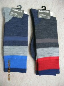 Timberland Mens Wool Blend Socks  in various colours / sizes - RRP £18