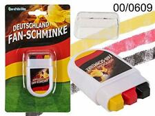 Stickers Maquillage pour Fan Crayons Drapeau Allemand 6 cm Supporteur Football