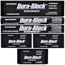 Dura Block 6 Piece Sanding Block Kit AF4400 AF4401 AF4402 AF4404 2x-AF4405 AF44A
