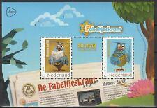 Nederland 2018 Blokje 3678 Meneer de Uil  50 jaar fabeltjeskrant
