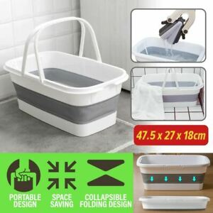 idrop Foldable Collapsible Household Laundry and Washing Mop Cleaning Bucket