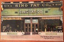 K96 Los Angeles California CA Sing Fat Co Oriental Emporium Hill St Vintage PC