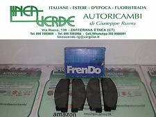 KIT PASTIGLIE FRENI PATTINI ANT. FRENDO 710035 PER 5888573 FIAT 124-125-1100R