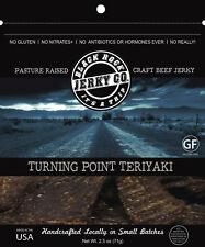 Black Rock CRAFT PREMIUM Beef Jerky TERIYAKI Original Smoked Lean Resealable