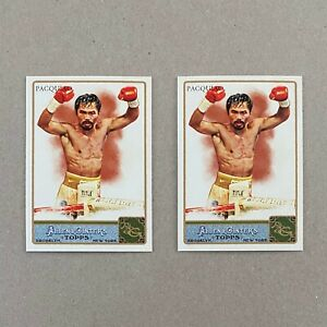 2011 Topps Allen & Ginter Card #262 MANNY PACQUIAO Lot of Two (2) Cards Pacman
