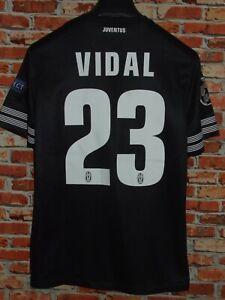 Soccer Jersey Trikot Maillot Camiseta Juventus Vidal Champions Size S