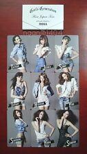 SNSD GIRLS' GENERATION 1ST JAPAN ARENA TOUR FULL SET PHOTO CARD RARE