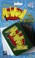 NEW My Word Card Game Tin- Family Games - Out Of The Box -  WordPlay Word Play