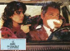 SEXY CORINNE CLERY LUCIO FULCI IL MIELE DEL DIAVOLO 1986  VINTAGE LOBBY CARD #7