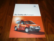 VW Caddy Life TRAMPER Prospekt 02/2006