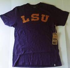 LSU Tigers 47 Brand Mens Scrum T-Shirt NWT Purple Small