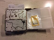 Nintendo New 3ds xl Rare Pearl White And Rare Pikachu Bag And Case