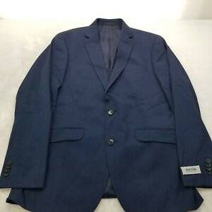 Kenneth Cole Reaction Men's Ready Flex Slim-Fit Suits NAVY 38R NEW W/ TAG